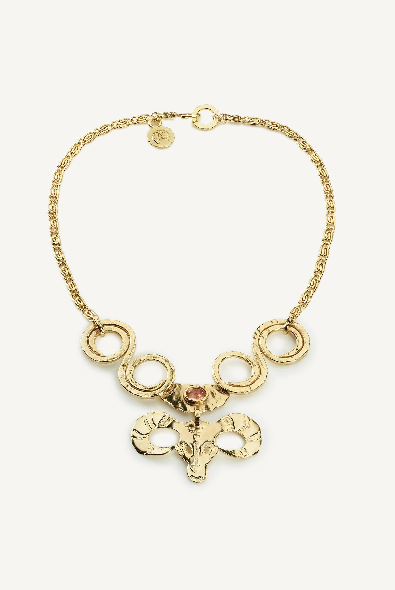 GOLDEN FLEECE NECKLACE