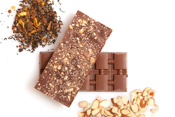 Chai and Smoked Almonds Milk Chocolate