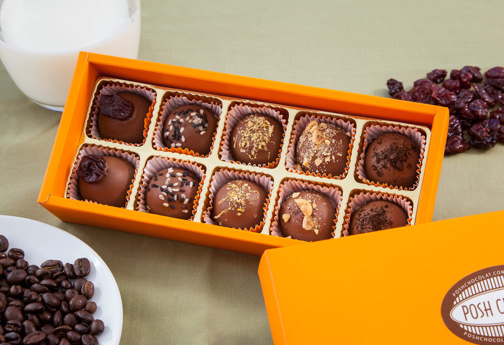 Milk Chocolate Collection - Artisan Truffles