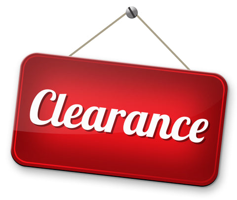 CLEARANCE MARKDOWNS!