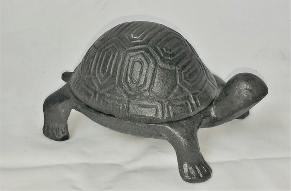Cast Iron Garden Turtle Trinket Key Box Glory Amp Grace