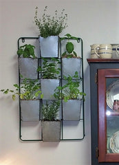 Seven Pocket Wall Display Rack