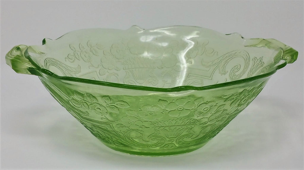 Lancaster Debra Depression Glass Bowl