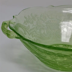 Lancaster Debra Depression Glass Bowl detail