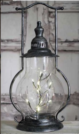 Rustic Luxe Angel Tears Steeple Lantern