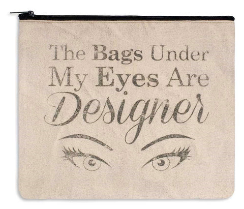 Designer Bags Canvas Makeup Cosmetics Bag