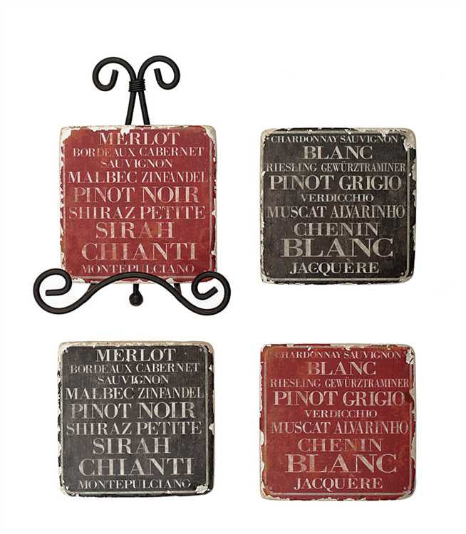 Wine Country Coaster Set