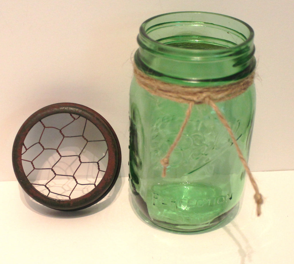Glory u0026 Grace Green Ball Mason Jar
