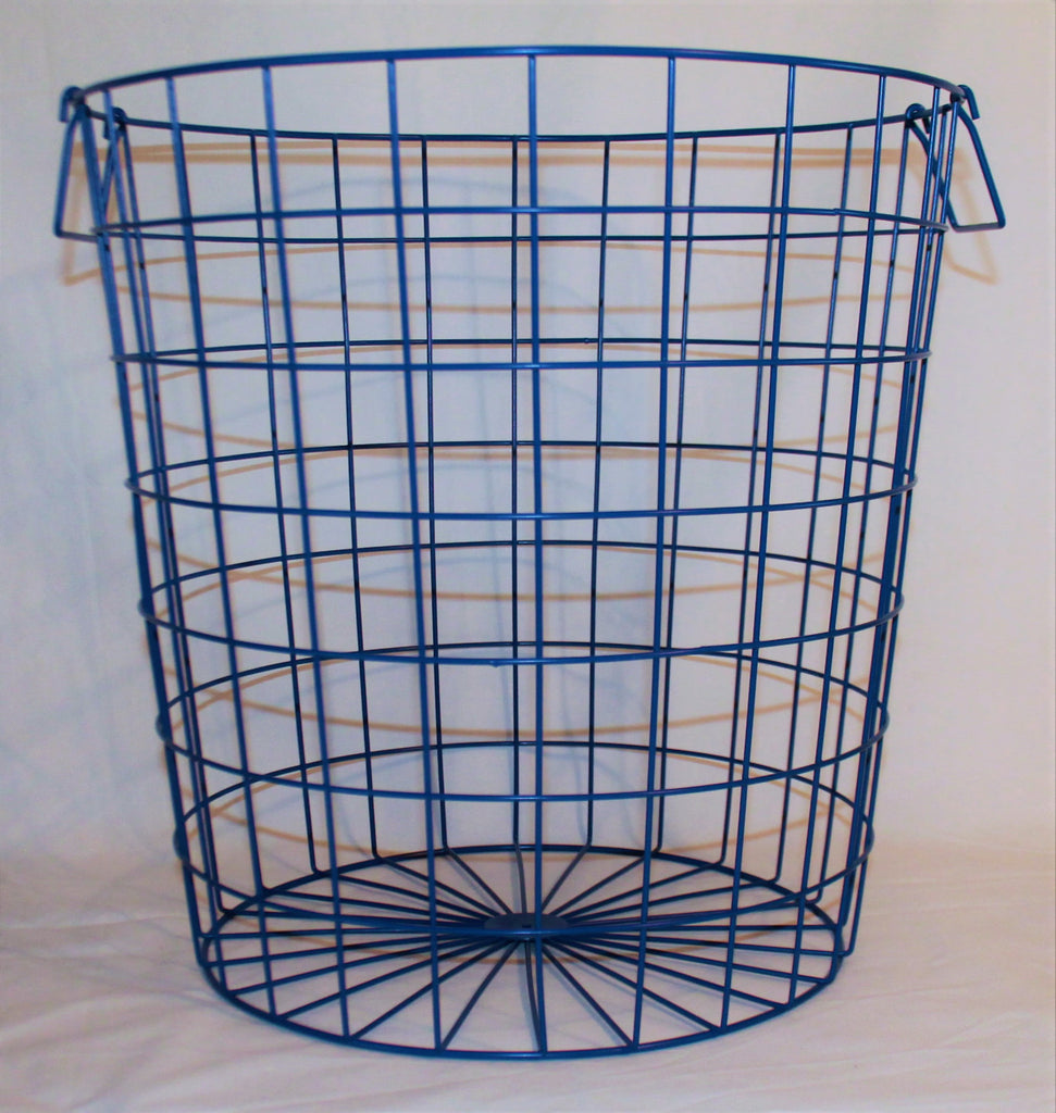 Glory & Grace Large 16 x 16 Wire Hamper Baskets, 3 Colors