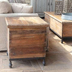 Old Pine Bee Box Storage End Table