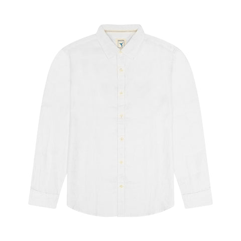 Hampton Long sleeve Linen Shirt