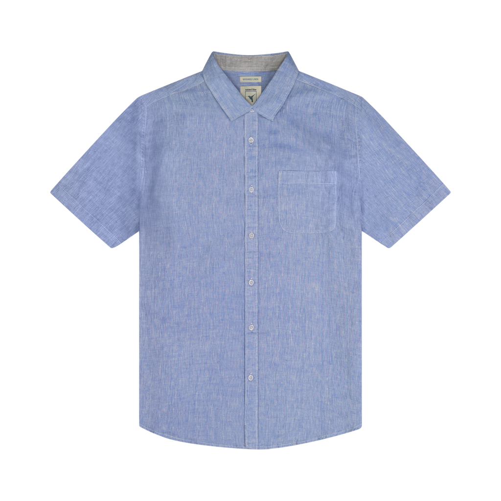 Eastbay 100% linen Delave Short Sleeve