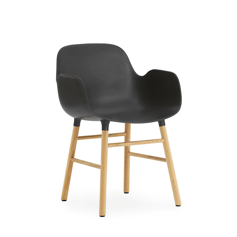 NORMANN - FORM Armchair - Wood Frame