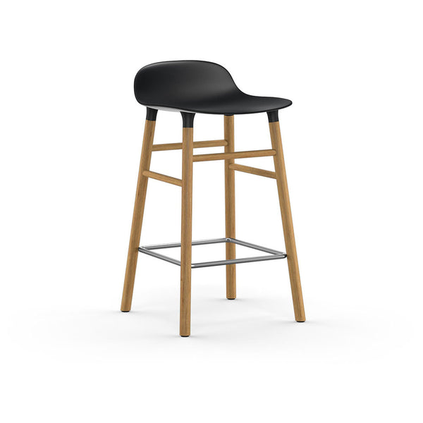 NORMANN - FORM Barstool 65cm - Wood Frame