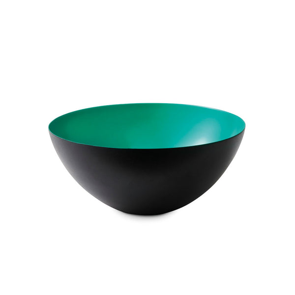 Normann Krenit Bowl Turquoise Black Metal diam8.4 352560