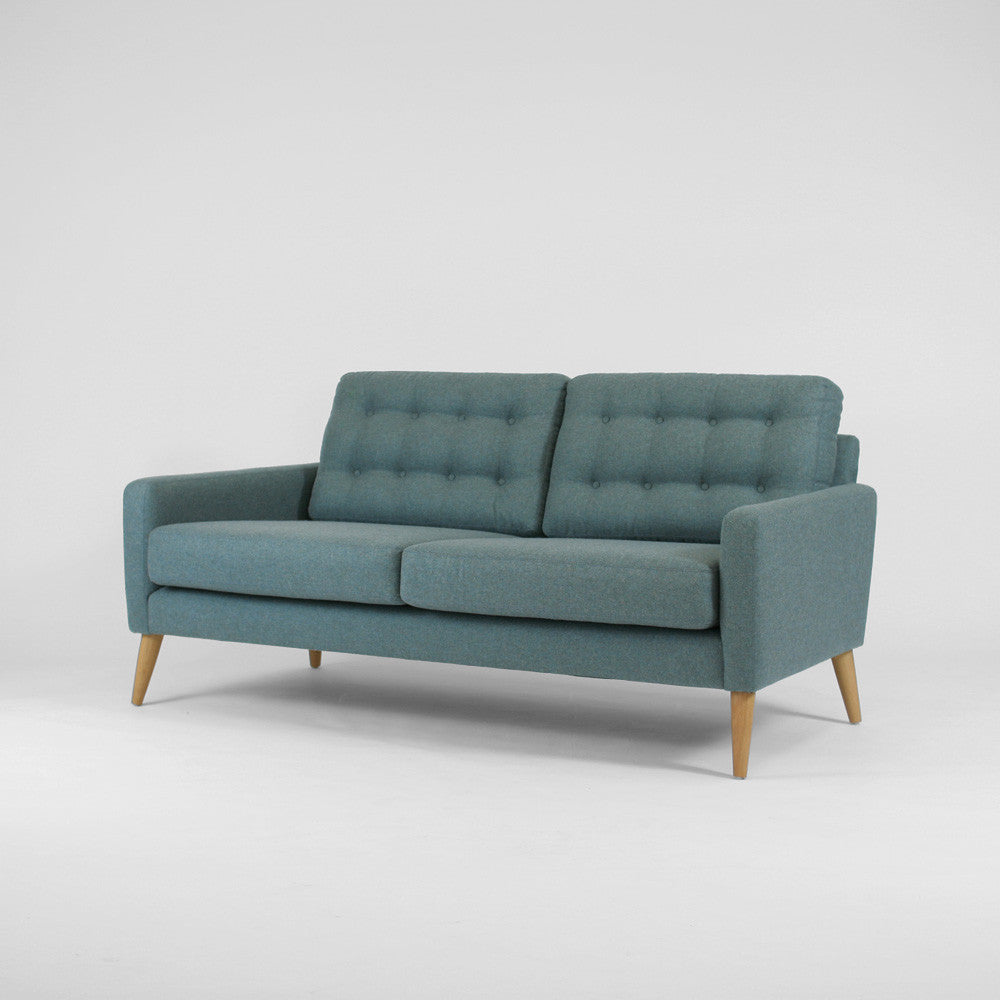 WOOD & WIRE - Pecket Wide 2 Seater Sofa