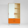 retro plywood wardrobe