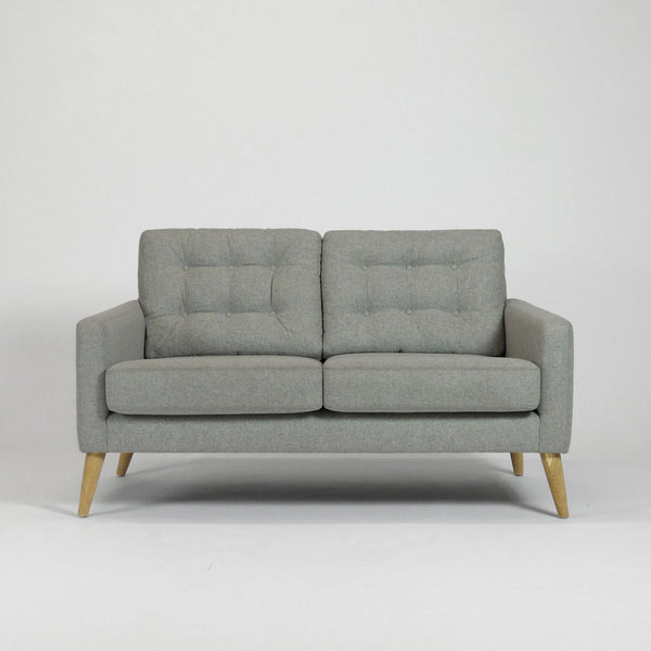 Wood & Wire Pecket 50's 60's 2 Seater Sofa  Front