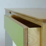 plywood sideboard - detail