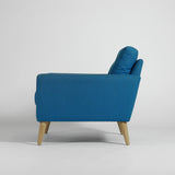 WOOD & WIRE - PECKET Mid Century Style Armchair