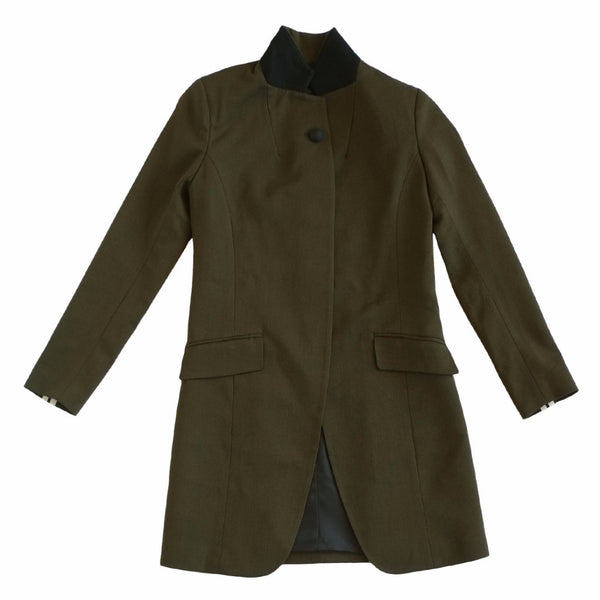 LAVEER SHARP BLAZER IN HUNTER GREEN