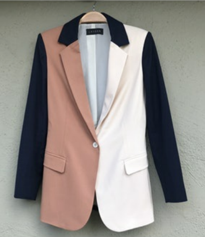 COLOR BLOCK REVELRY BLAZER