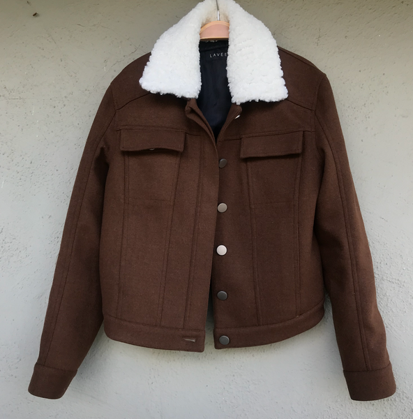 WEEKEND JACKET | CHESTNUT