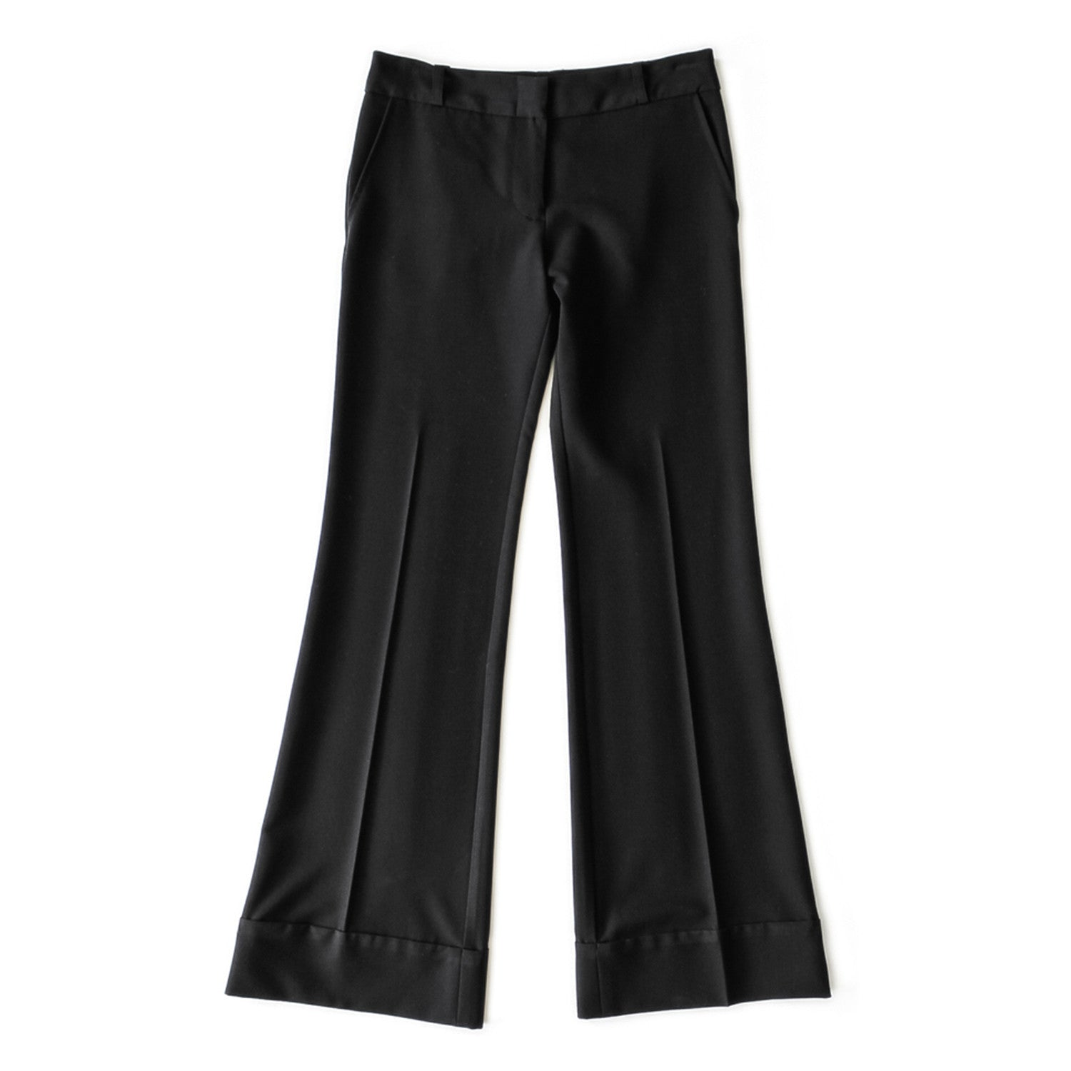 CUSTOM SUITING: LAVEER Wide Leg Pant
