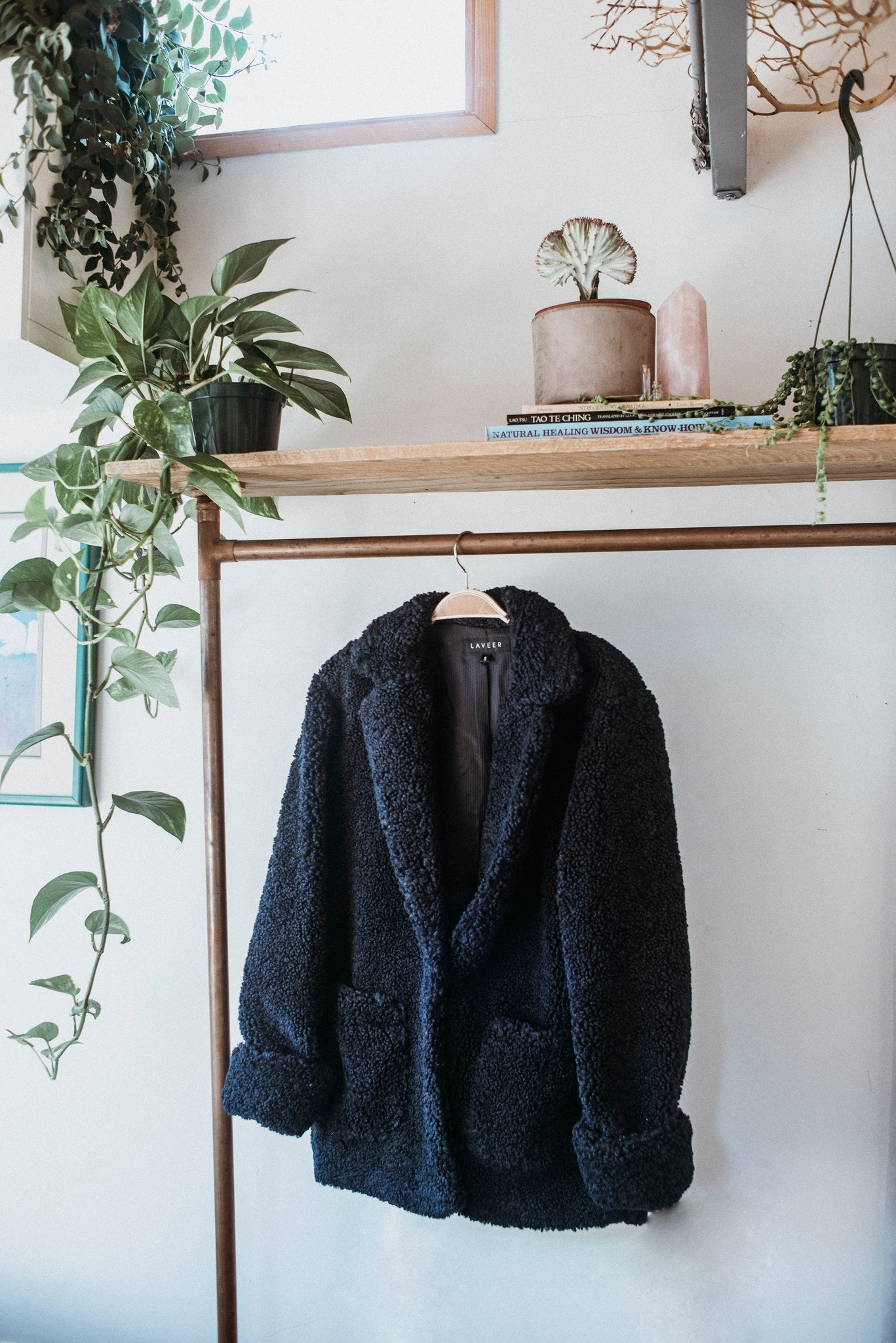 LAVEER JANE COAT IN NAVY