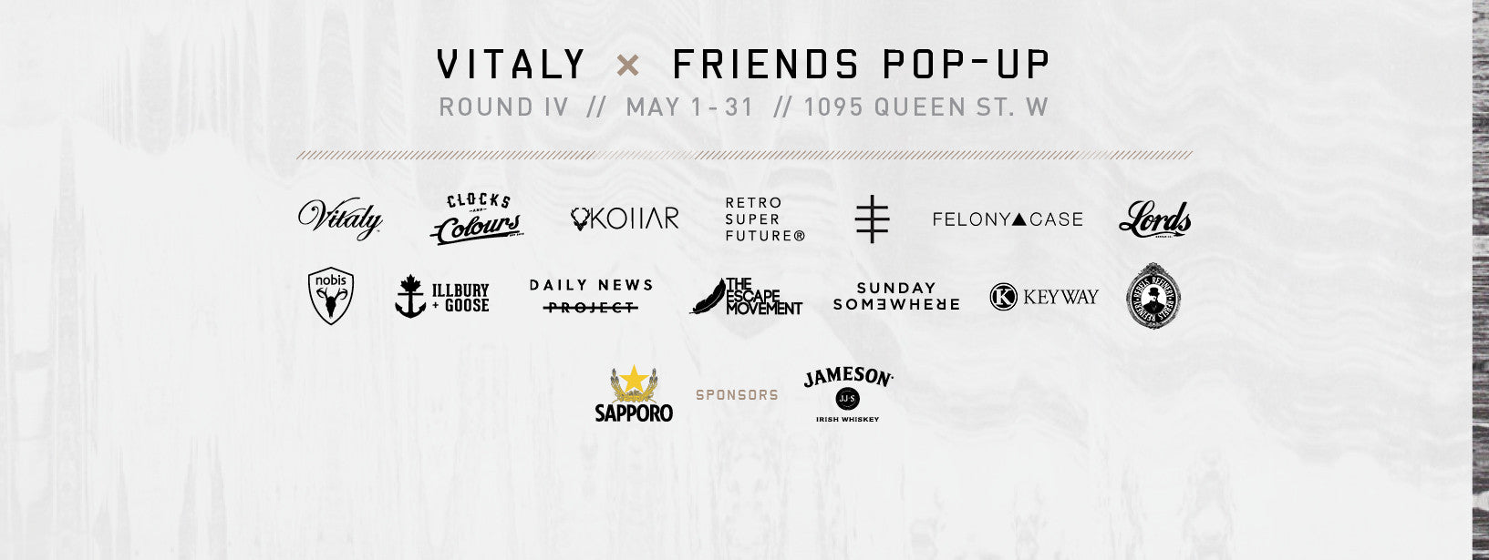 Vitaly x Friends Pop-Up Shop Launches in Toronto