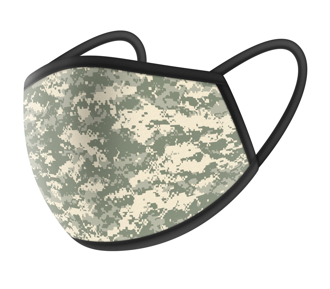 Digital Camo Design Cloth Masks