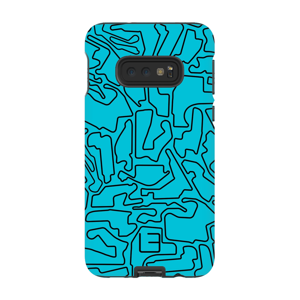 IndyCar Case <br> Black/Aqua