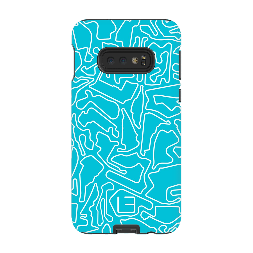 North American Case <br> White/Aqua