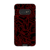 North American Case <br> Red/Black