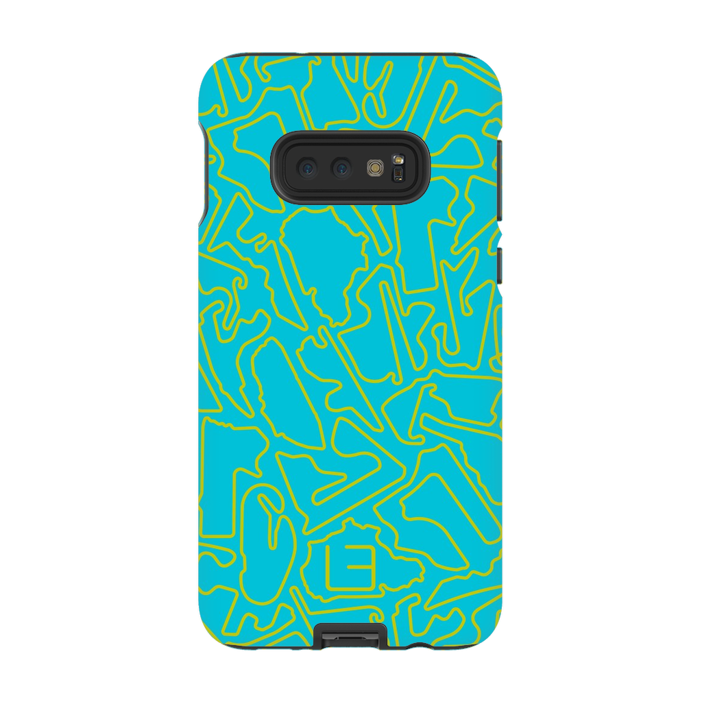 Endurance Case <br> Yellow/Aqua