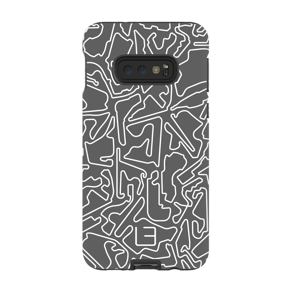 Formula 1 Case <br> White/Grey