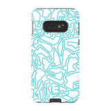 North American Case <br> Aqua/White