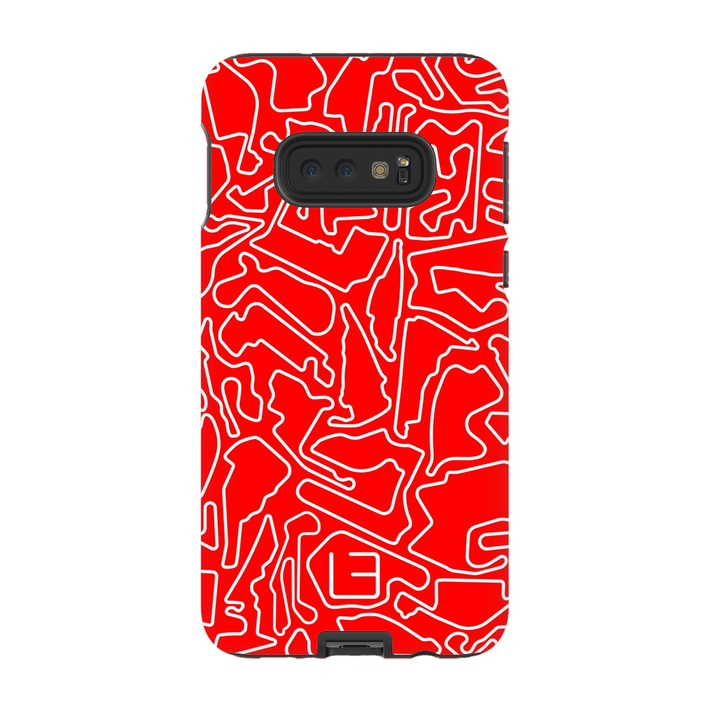 North American Case <br> White/Red