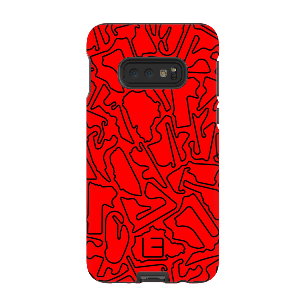 Endurance Case <br> Black/Red