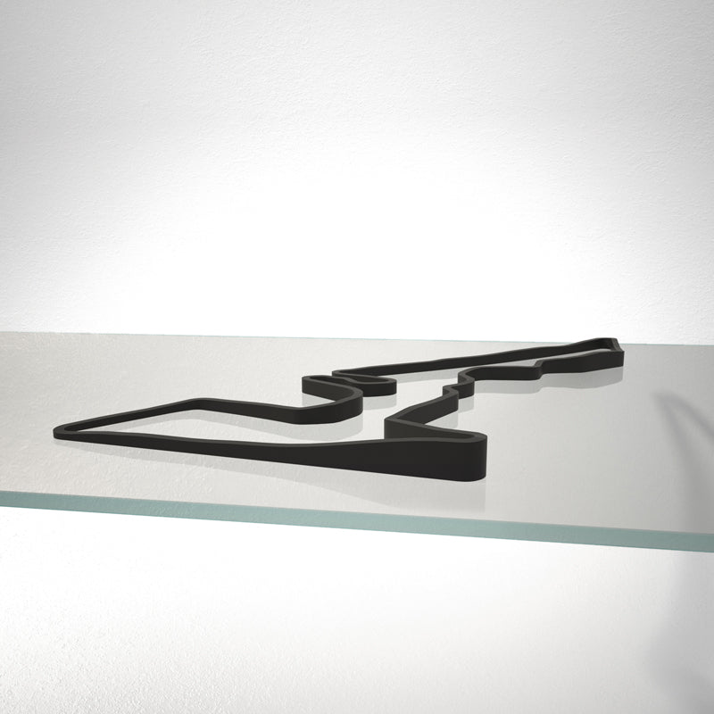 Circuit of the Americas 3D Track Sculpture Black