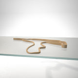 Spa Francorchamps Circuit 3D Track Sculpture Tan