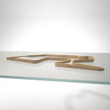 Watkins Glen International 3D Track Sculpture Tan