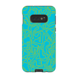 Formula 1 Case <br> Yellow/Aqua