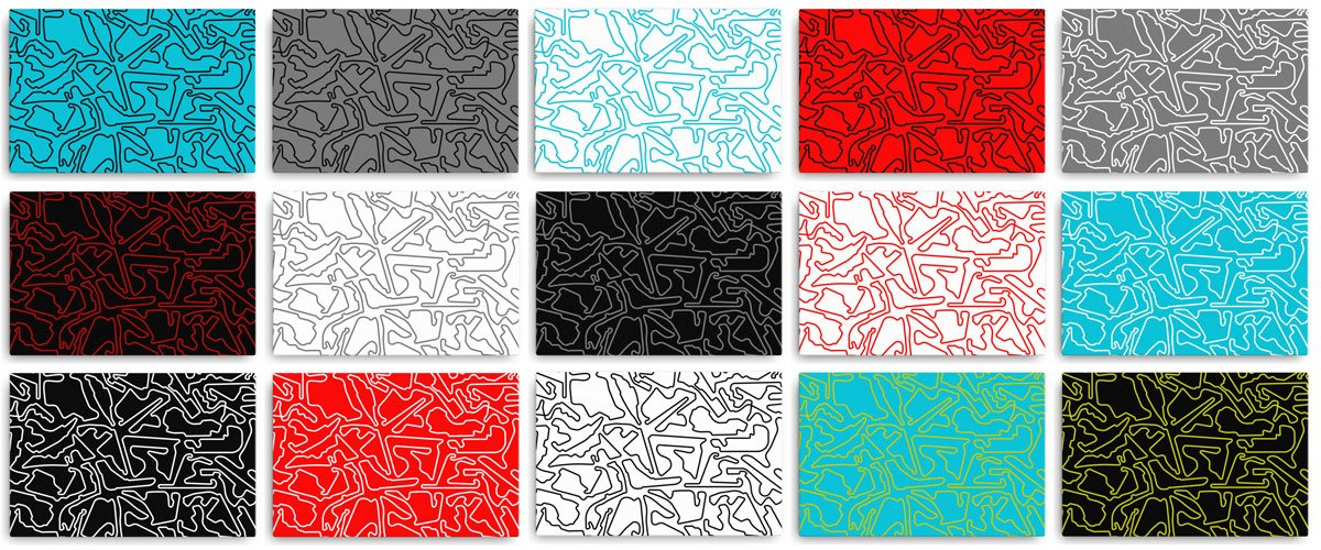 Canvas Collection Colors