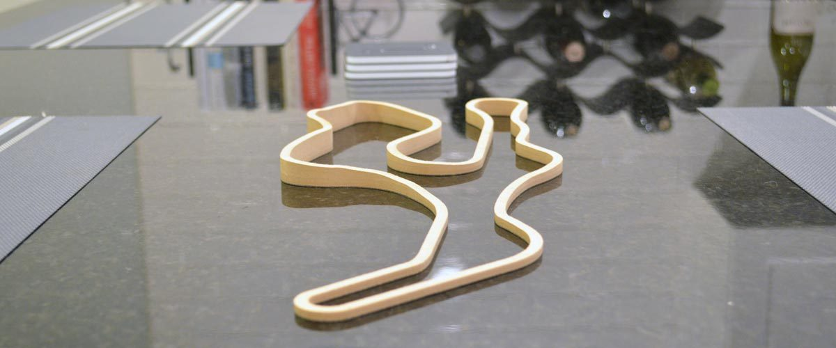 3D Track Sculptures Living Room