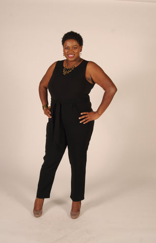 plus size, jumpsuit, black jumpsuit