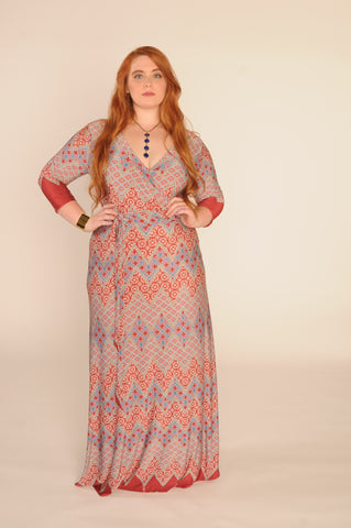 plus size maxi, burgundy maxi, plus size dress