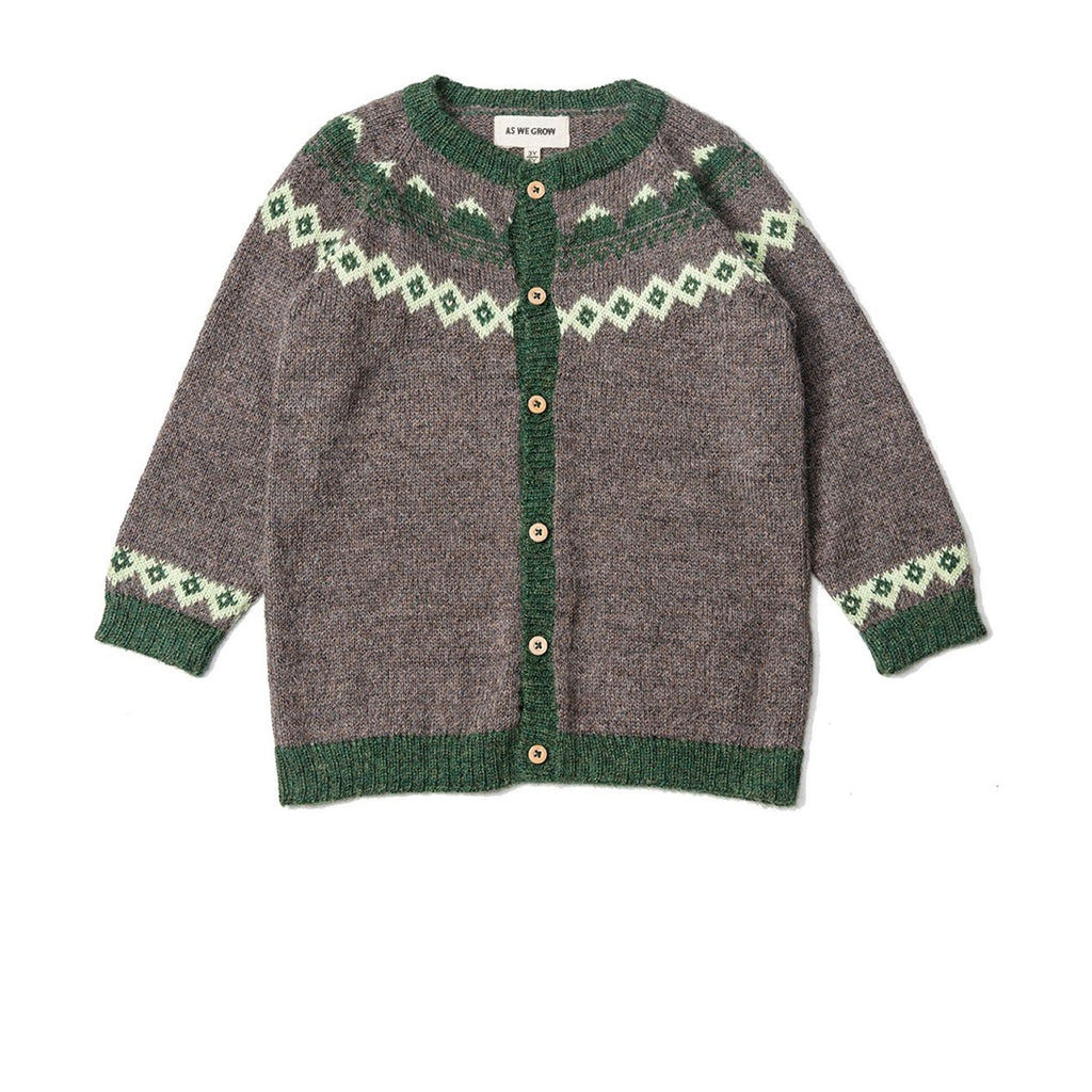 Mountain Cardigan - Wood
