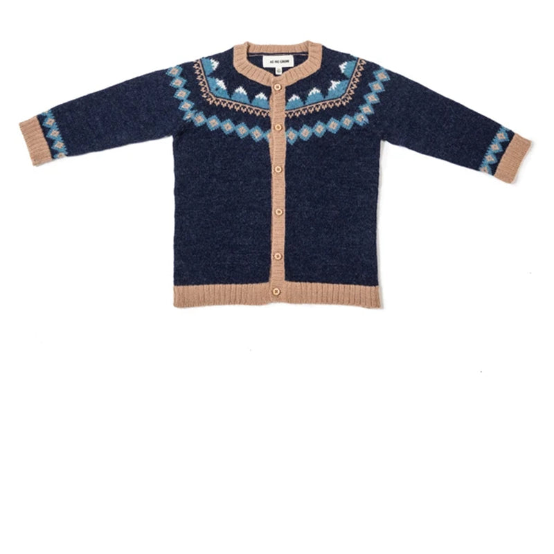 Mountain Cardigan - Navy