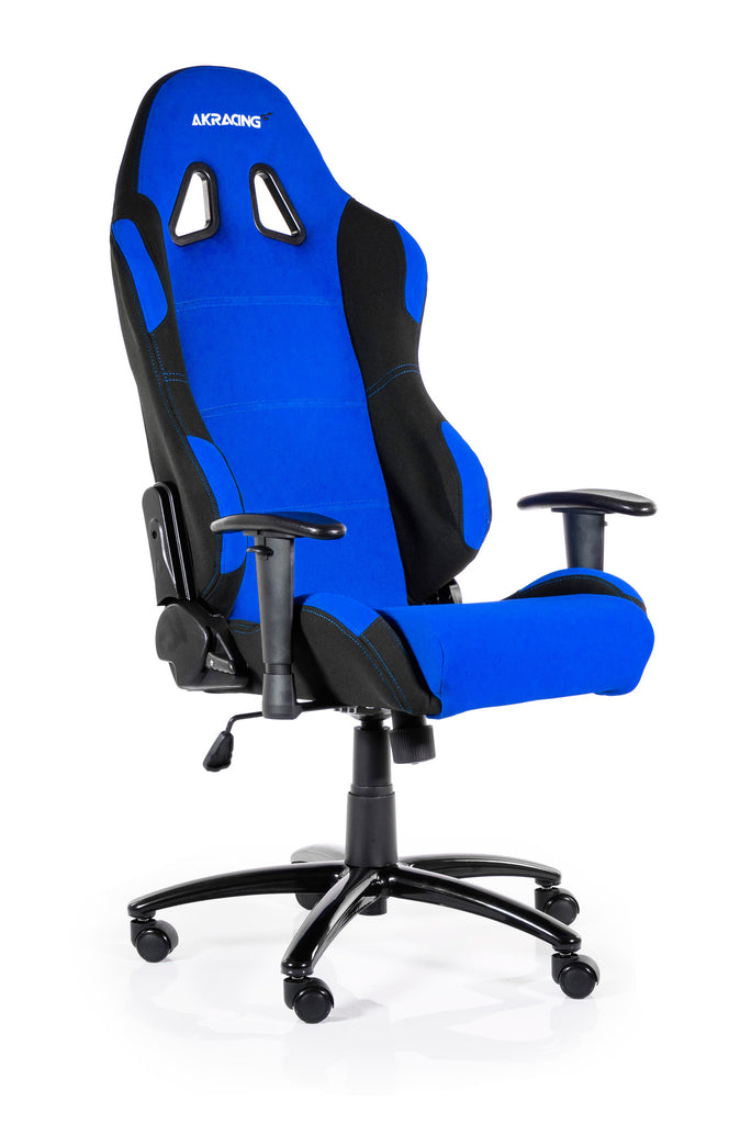 AKRACING AK-7018 Gaming Chair Black/Blue - REFURBISHED(1 YEAR WARRANTY)